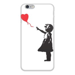 "Чехол для iPhone 6 ""Balloongirl"" - girl, banksy, balloon, бэнкси"