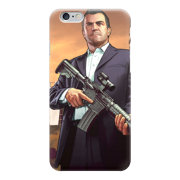 "Чехол для iPhone 6 ""GTA 5"" - игры, gta, геймеру, гта, фанату"