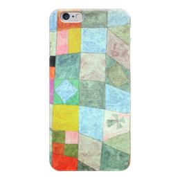 """Чехол для iPhone 6 """"Товарищеский матч"""" - картина, клее"""