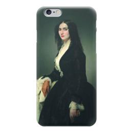 "Чехол для iPhone 6 ""Певица Матильда Джува-Бранка"" - картина, айец"