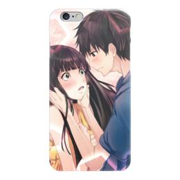 """Чехол для iPhone 6 """"Савако и Казехая"""" - любовь, джокер, аниме, вампиры, отряд самоубийц"""