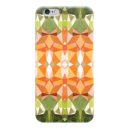 "Чехол для iPhone 6 ""Морковный фреш"" - белый, оранжевый, зеленый"