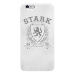 """Чехол для iPhone 6 """"Игра престолов. Дом Старков"""" - игра престолов, старки, game of thrones, house stark, дом старков"""