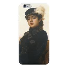 "Чехол для iPhone 6 ""Неизвестная (картина Крамского)"" - картина, крамской"