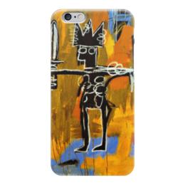 """Чехол для iPhone 6 """"Basquiat"""" - любовь, граффити, корона, basquiat, баския"""