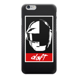 "Чехол для iPhone 6 глянцевый ""Daft Punk"" - daft punk, электроника"