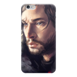 "Чехол для iPhone 6 ""Джон Сноу (Игра Престолов)"" - игра престолов, старки, game of thrones, джон сноу"