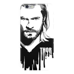 """Чехол для iPhone 6 """"Тор  """" - комиксы, мстители, avengers, марвел, thor"""