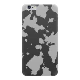 """Чехол для iPhone 6 """"Тёмно-Серый Камуфляж"""" - армия, камуфляж, camouflage, военный, тёмно серый камуфляж"""