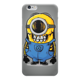 """Чехол для iPhone 6 """"Skull Minion"""" - skull, череп, миньоны, миньон, minion"""