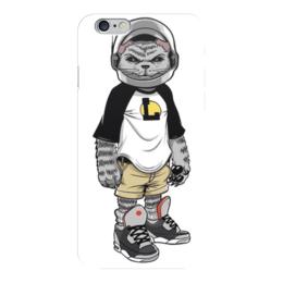 """Чехол для iPhone 6 """"Cosmocot"""" - кот, космонавт, cosmocot"""