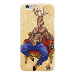 "Чехол для iPhone 6 ""Крутой олень"" - крутой, олень, джек, deer"