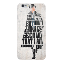 "Чехол для iPhone 6 ""Шерлок Sherlock"" - сериал, sherlock, шерлок, шерлок холмс, sherlock holms"