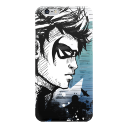 "Чехол для iPhone 6 ""Найтвинг (Nightwing)"" - найтвинг, nightwing"