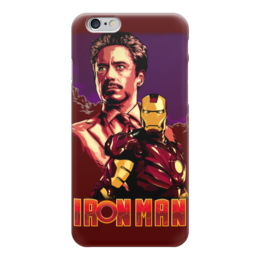 "Чехол для iPhone 6 ""Iron Man/Железный человек"" - фантастика, marvel, железный человек, iron man, ironman"