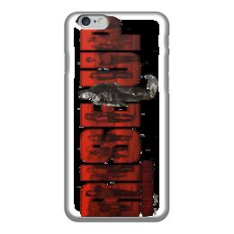 """Чехол для iPhone 6 глянцевый """"Ходячие мертвецы / The Walking Dead"""" - комикс, рисунок, кино, сериал, зомби"""
