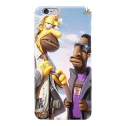 """Чехол для iPhone 6 """"симпсонин-2"""" - арт, мультгерои, рисунок, симпсоны"""