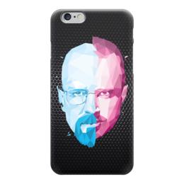 "Чехол для iPhone 6 ""Во все тяжкие (Breaking Bad)"" - во все тяжкие, breaking bad, хайзенберг, пинкман, полигоны"