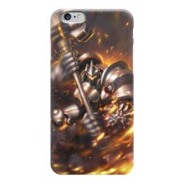 "Чехол для iPhone 6 ""Рейнхард"" - blizzard, близзард, overwatch, овервотч, reinhardt"