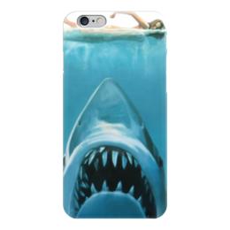 "Чехол для iPhone 6 ""Челюсти (Акула)"" - челюсти, акула, jaws"