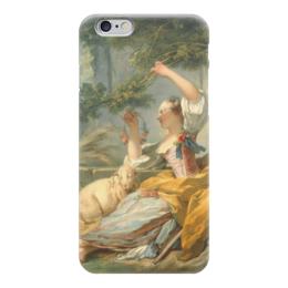 "Чехол для iPhone 6 ""Пастушка"" - картина, фрагонар"