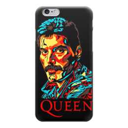 "Чехол для iPhone 6 ""Queen group"" - queen, фредди меркьюри, freddie mercury, куин, rock music"