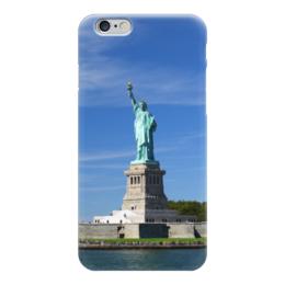 """Чехол для iPhone 6 """"Статуя Свободы"""" - нью-йорк, америка, статуя свободы"""