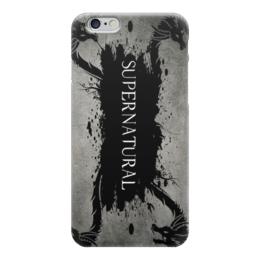 """Чехол для iPhone 6 """"Сверхестественное (Supernatural)"""" - арт, сериалы, supernatural, сверхестественное"""
