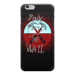 """Чехол для iPhone 6 глянцевый """"Pink Floyd The Wall"""" - стена, рок музыка, пинк флойд, pink floyd, the wall"""