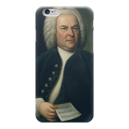 "Чехол для iPhone 6 ""Портрет Иоганна Себастьяна Баха"" - картина, хаусман"