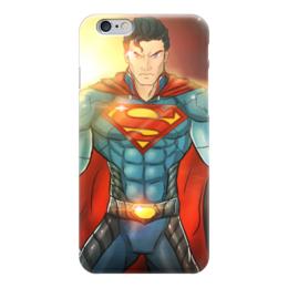 "Чехол для iPhone 6 ""Супермен"" - superman, супергерой, man of steel, clark kent"