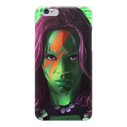 """Чехол для iPhone 6 """"Гамора"""" - комиксы, марвел, стражи галактики, guardians of the galaxy, gamora"""