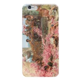 "Чехол для iPhone 6 ""Розы Гелиогабала (The Roses of Heliogabalus)"" - картина, альма-тадема"