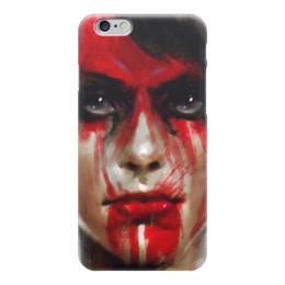 """Чехол для iPhone 6 """"Молчунья (Metal Gear Solid)"""" - metal gear, phantom pain, quiet"""