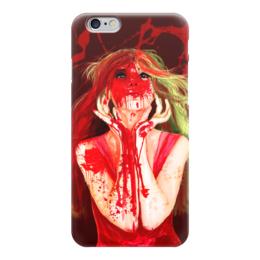 """Чехол для iPhone 6 """"Девушка, которая обожает вишню )"""" - арт, red, красный, девушке, cherry"""