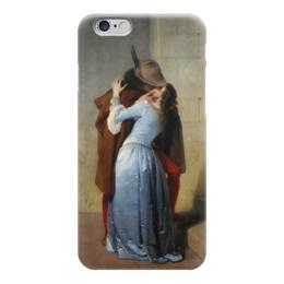 """Чехол для iPhone 6 """"Поцелуй (Франческо Айец)"""" - италия, картина, поцелуй, милан, айец"""
