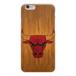 "Чехол для iPhone 6 ""Чикаго Буллз"" - basketball, nba, wood, chicago bulls, чикаго буллз"