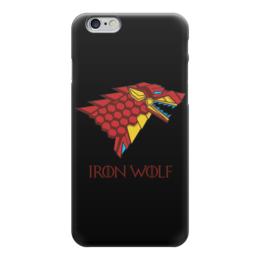 """Чехол для iPhone 6 """"Iron Wolf (Stark x Iron Man)"""" - wolf, железный человек, iron man, старки, stark"""
