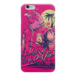 """Чехол для iPhone 6 глянцевый """"Hotline Miami"""" - игры, 23 февраля, hotline miami, хотлайн майами"""