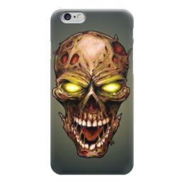 "Чехол для iPhone 6 глянцевый ""Skull Art"" - skull, evil, зло, череп, арт дизайн"