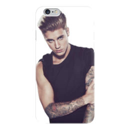 "Чехол для iPhone 6 глянцевый ""Justin Bieber (Джастин Бибер)"" - justin bieber, джастин бибер"