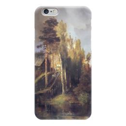 """Чехол для iPhone 6 """"Монастырские ворота"""" - картина, саврасов"""