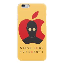 """Чехол для iPhone 6 глянцевый """"Steve Jobs"""" - steve jobs, apple, стив джобс, эпл, яблоко"""