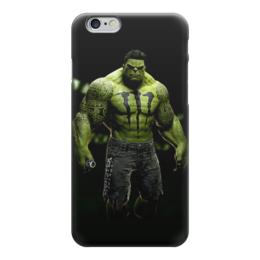 "Чехол для iPhone 6 ""невероятный халк"" - комиксы, hulk, marvel, халк, марвэл"