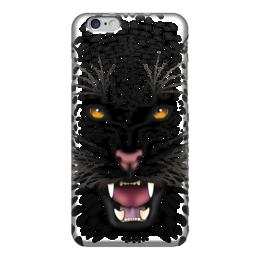 """Чехол для iPhone 6 """"Леопард"""" - арт, животные, рисунок, леопард, хищники"""