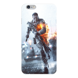 "Чехол для iPhone 6 глянцевый ""Battlefield"" - поле битвы, battlefield, баттлфилд"