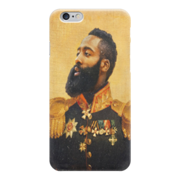 "Чехол для iPhone 6 глянцевый ""James Harden"" - houston rockets, james harden, джеймс харден, хьюстон рокетс"