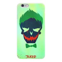 "Чехол для iPhone 6 ""Джокер"" - jared leto, joker, комиксы, отряд самоубийц, suicide squad"