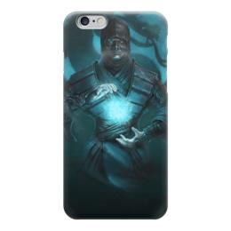 "Чехол для iPhone 6 глянцевый ""Sub-Zero (Mortal Kombat)"" - смертельная битва, мортал комбат, мк, mortal kombat, саб-зиро"