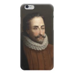 "Чехол для iPhone 6 ""Портрет Мигеля Сервантеса"" - картина, балака"